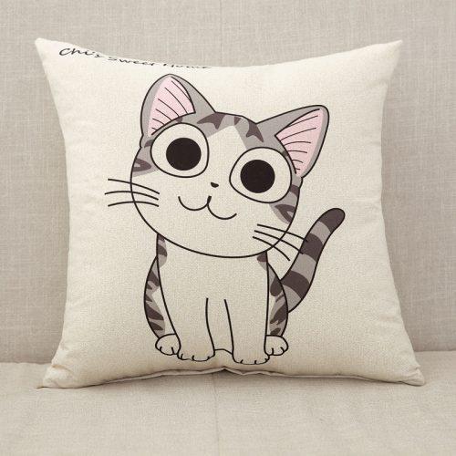 Gối trang trí hình Mèo GO008