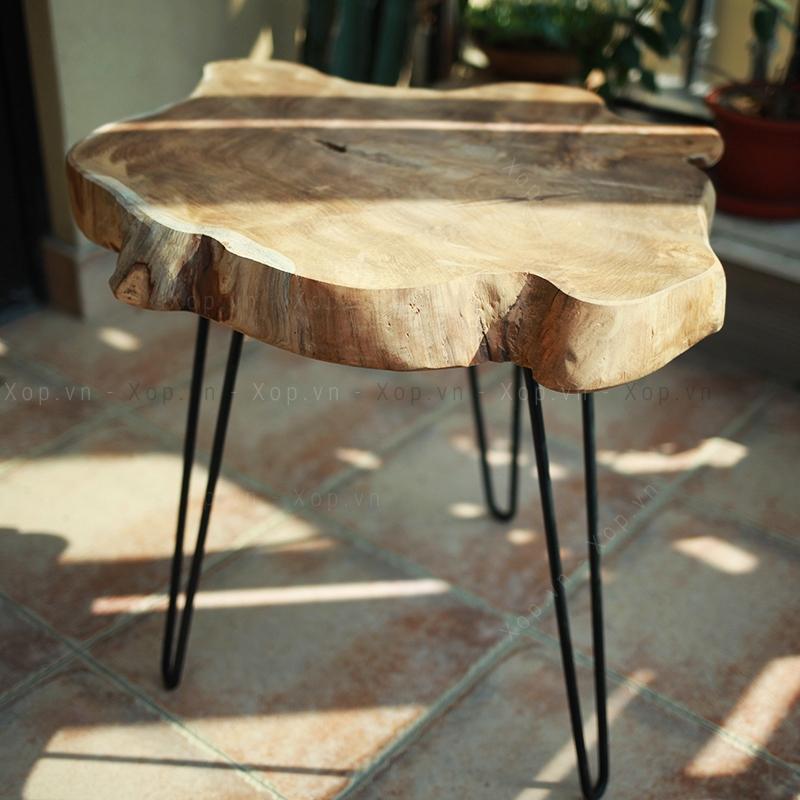 Bàn sofa, bàn góc gỗ tự nhiên B29