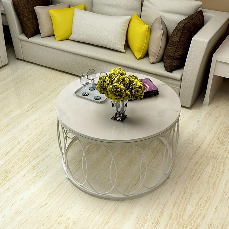 Bàn sofa tròn hiện đại Cobra