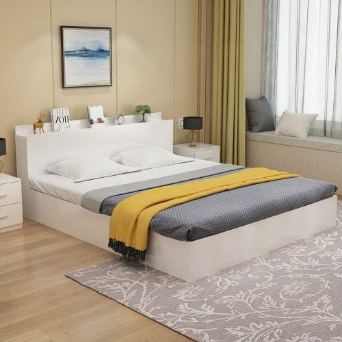 Giường gỗ công nghiệp giá rẻ GN05