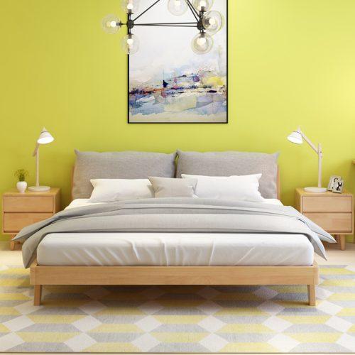 Giường ngủ đơn giản GN02