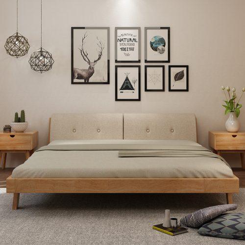 Giường ngủ đơn giản GN03