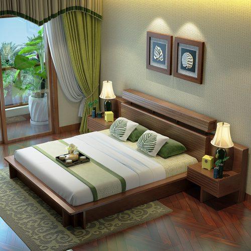 Giường ngủ hiện đại GN04