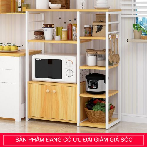 Kệ để lò vi sóng đồ dùng nhà bếp kèm tủ KS70-3