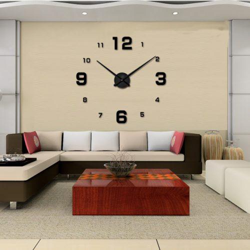 Đồng hồ 3D dán tường DT07