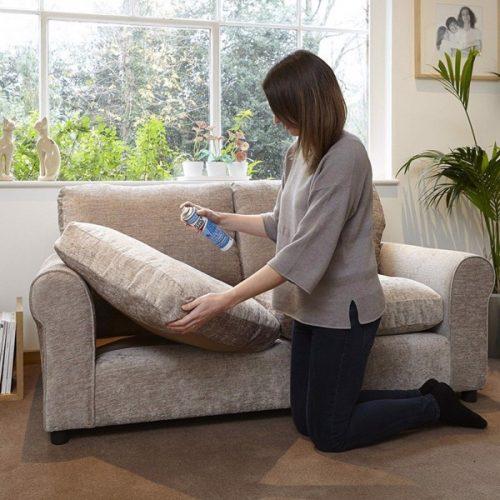 Mẹo tự vệ sinh ghế sofa, đệm dày đúng cách