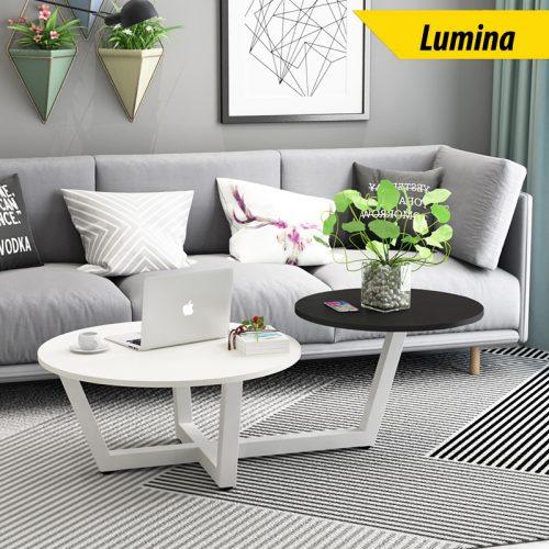 Bàn sofa 2 tầng Lumina