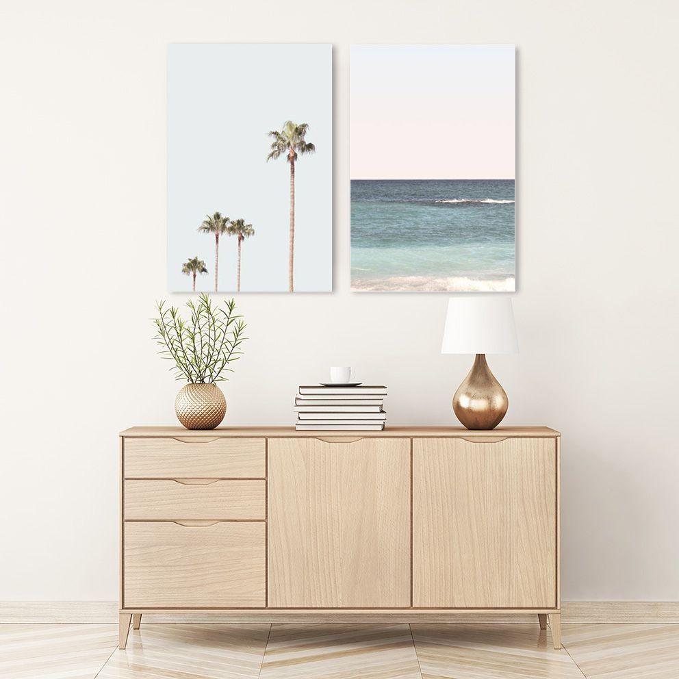 Tranh canvas Cây và Biển