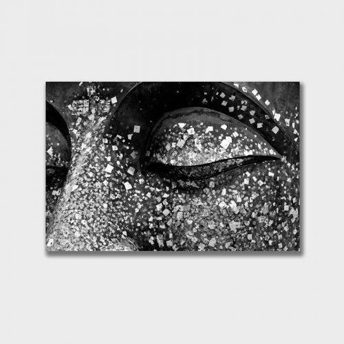 Tranh canvas Mắt Phật
