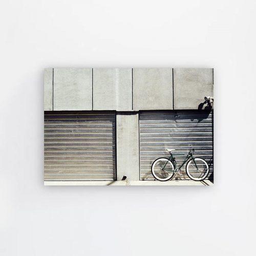 Tranh canvas Xe đạp