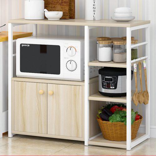 Kệ bếp, kệ trang trí có hộc tủ K70-2